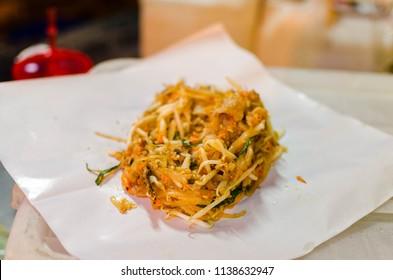 """Thai famous food. """"Padthai"""""""