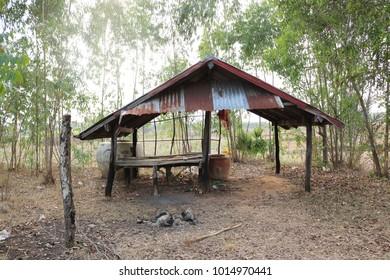 Thai farmhouse of Asia