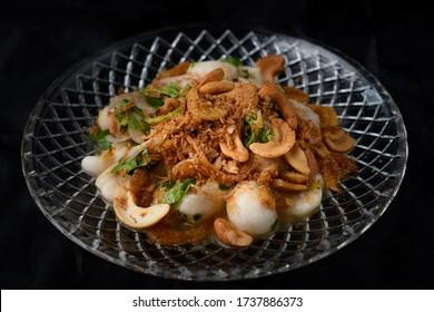 Thai finest style food ,Mangosteen spicy salad