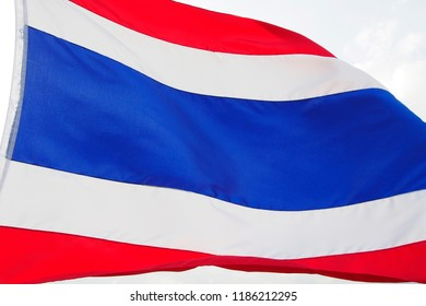 thai flag background