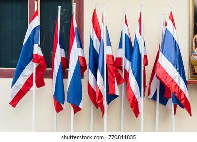Thai flag is the symbol of Thailand