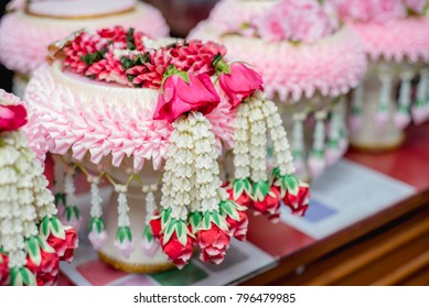 Thai Flower Garland,wedding ceremony accessories tool, Thailand wedding