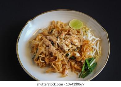 Thai food Pad thai , Stir fry noodles in padthai style