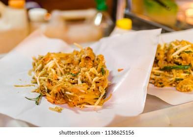 """Thai food """"Padthai""""."""