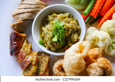thai food in thailand which when arrived at thailand many people would like to eat delicious food in thailand, popular food in north of thailand and have many herb and good for health in food package.