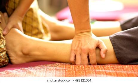 Thai Foot Massage, Spa Concept