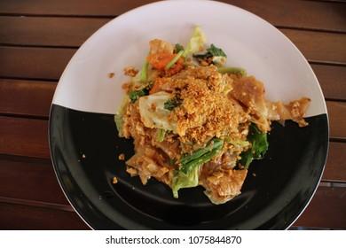Thai Fried Noodles, PadThai in Thailand