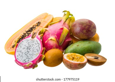 Thai fruits isolated