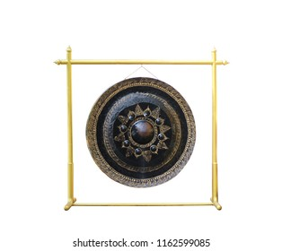 Thai Gong isolated on white background, this has clipping path.