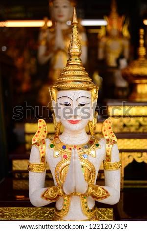 Thai Handicraft Souvenirs Chatuchak Market Bangkok Stock Photo Edit