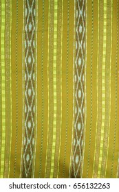 Thai hand-made fabric pattern