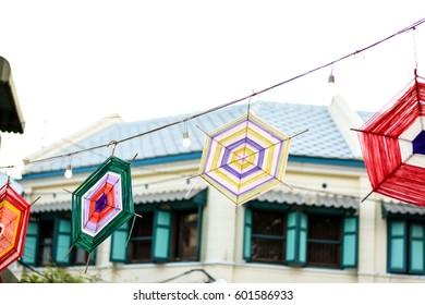 Thai Hanging Decoration, Lanna Tung decoration