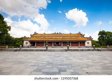 Thai Hoa Palace in the UNESCO World Heritage site of Imperial Palace and Citadel in Hue, Vietnam
