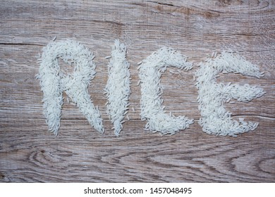 Thai hom mali rice,The word rice