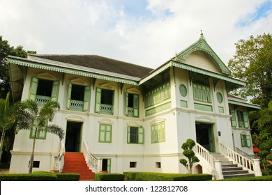 Thai house traditional style in Phrae, Thailand