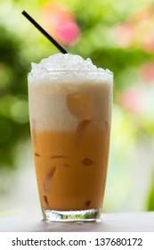 Thai Ice Tea on the table