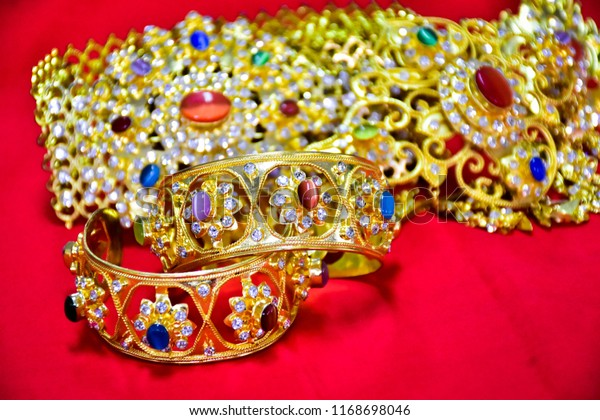 Thai Jewelry Accessory Culture Stock Photo (Edit Now) 1168698046
