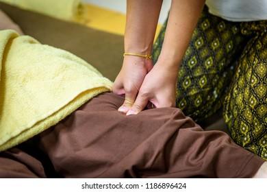 Thai Massage for body therapy, Spa Concept