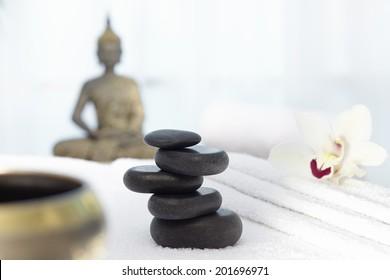 Thai massage, Hot stones