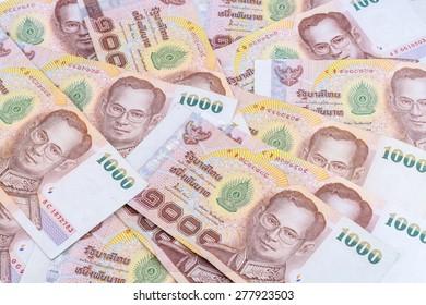 Thai Money, Thai Currency 1000 Baht
