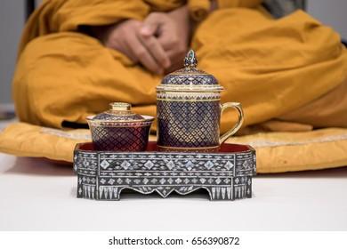 Thai monk.