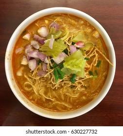 Thai northern local food