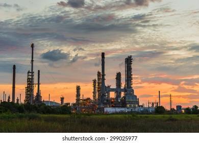 thai oil tank farm