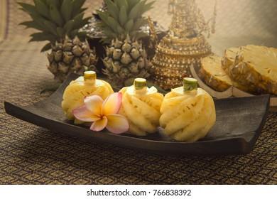Thai pineapple with sweet taste.