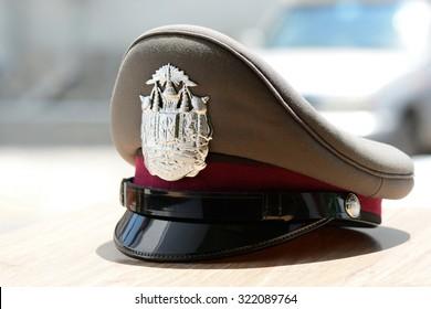 Thai police cap