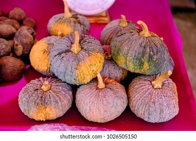 Thai pumpkins on sale