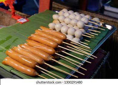 Thai Sausage  and fishball