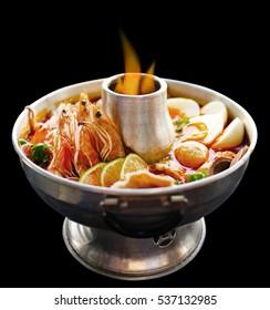 Thai Seafood Hot Pot