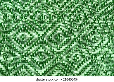 thai siam fabric silk green pattern texture