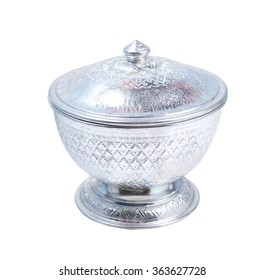 thai silver bowl antique silverware