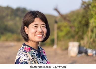 A Thai smiley girl.