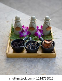 Thai spa products.