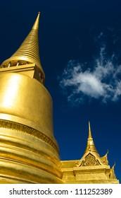 Thai Stupa in Grand Palace - Wat Phra Kaew Thailand