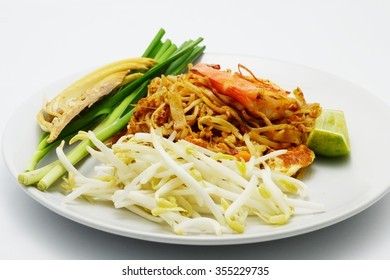 Thai style fried noodle