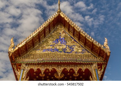 Thai Style Roof Decoration