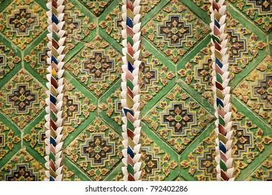 Thai style 's wall  texture
