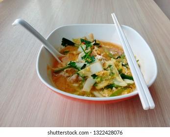 Thai Style Sukiyaki. Sukiyaki is very appetizing.