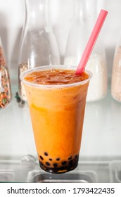 Thai tea taken at Froyo restaurant