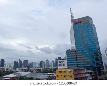 Thai Television Channel 3 ฺBuilding BANGKOK THAILAND-20 OCTOBER 2018;Thai TV Channel 3 is the fourth Terrestrial Television station in Thailand operated by Bangkok Entertainment Co., Ltd.