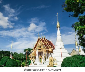 The Thai temple art of the faith in Thailand
