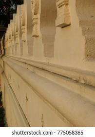 Thai temple fence