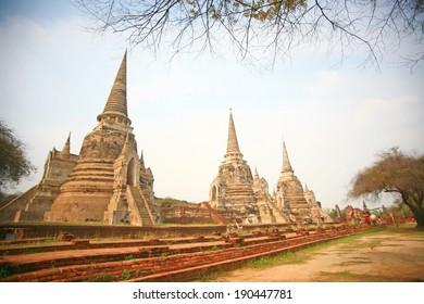 Thai Temple , Srisanpetch - Ayutthaya