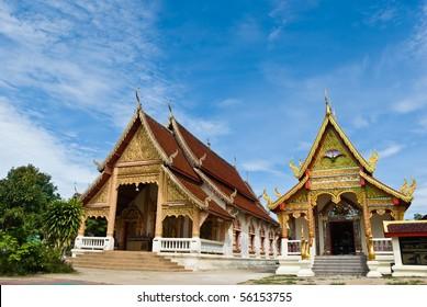 Thai temple,north of Thailand