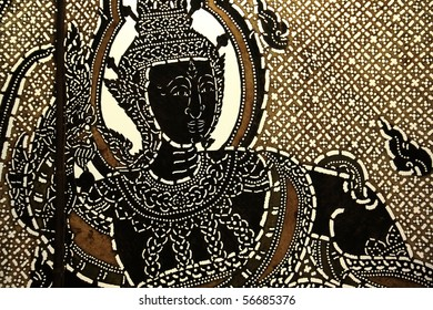 Thai tradition line art