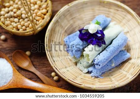 Thai traditional dessert Kay
