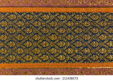 Thai Traditional  Fabric Pattern